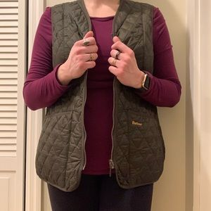 Barbour Betty Diamond-Quilted Vest Liner
